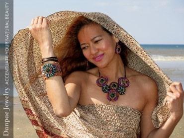 Kate Danpae - Founder of Danpae Handmade Art Jewelry